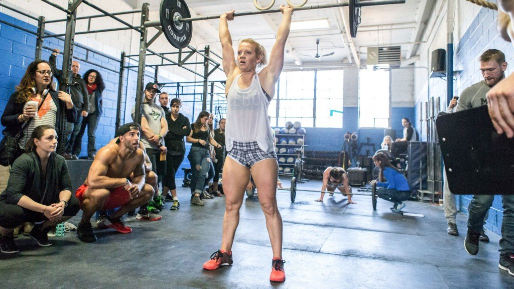 Weightlifting is an important part of Crossfit and new IWF Executive Board member Karoliina Lundahl would like to tap into that market, like they do in her native Finland ©Crossfit