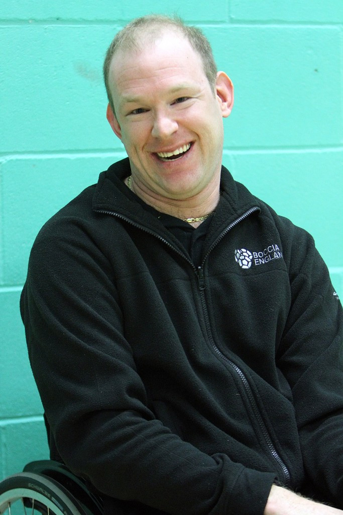 Dan Bentley has been named players' advocate by Boccia England ©Boccia England