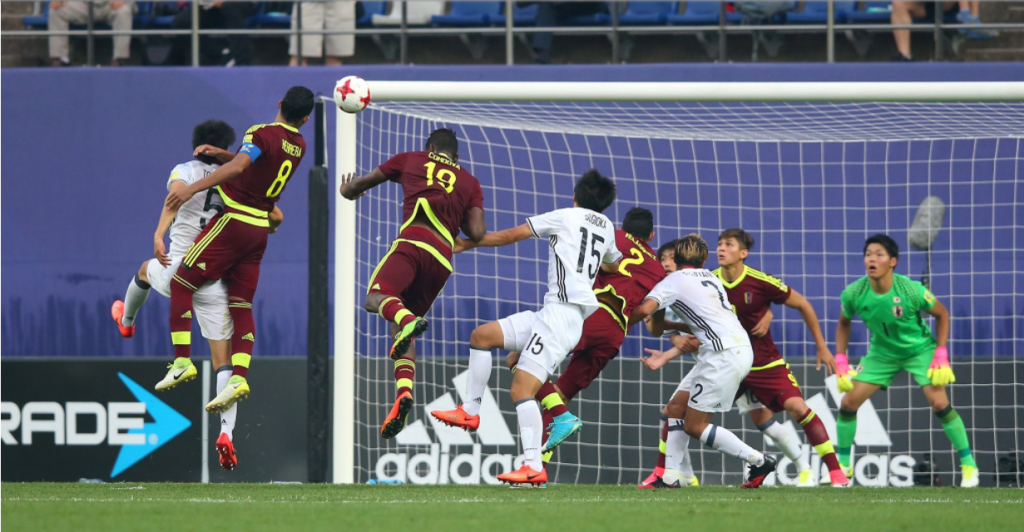 Venezuela beat Japan 1-0 after extra time to reach the quarter-finals ©Getty Images