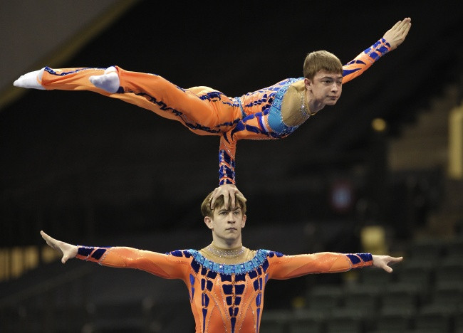 Ivanovs move to joint lead in world rankings after victory at Acrobatic Gymnastics World Cup