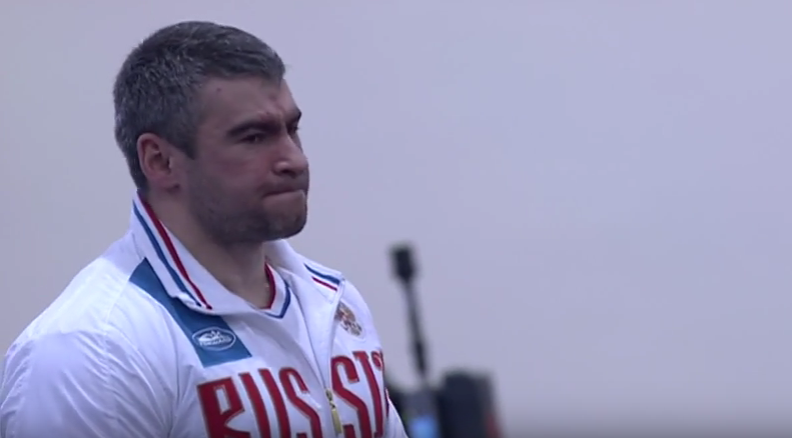 Sergei Sychev returned an adverse analytical finding for metandienone ©Paralympic Games/YouTube
