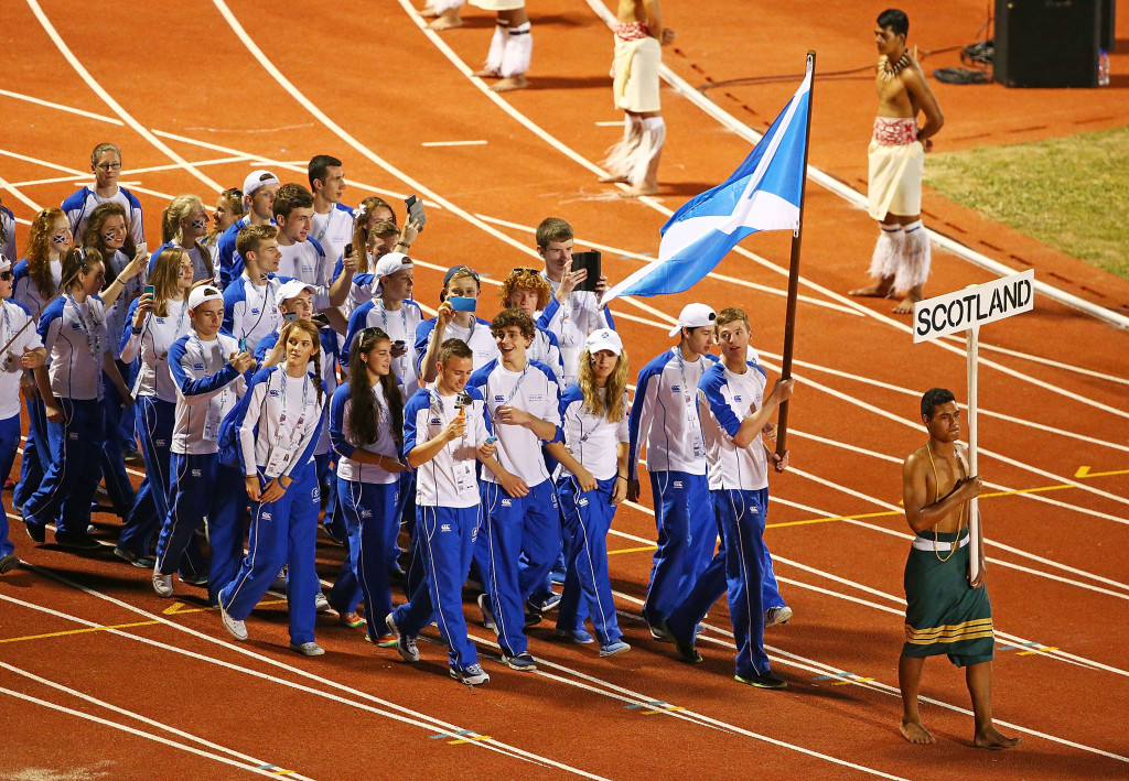 Scotland won seven medals, four gold and three silver, at the last edition of the Commonwealth Youth Games in Samoa in 2015 ©Getty Images