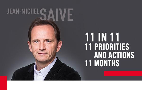 Belgium's Jean-Michel Saive has unveiled