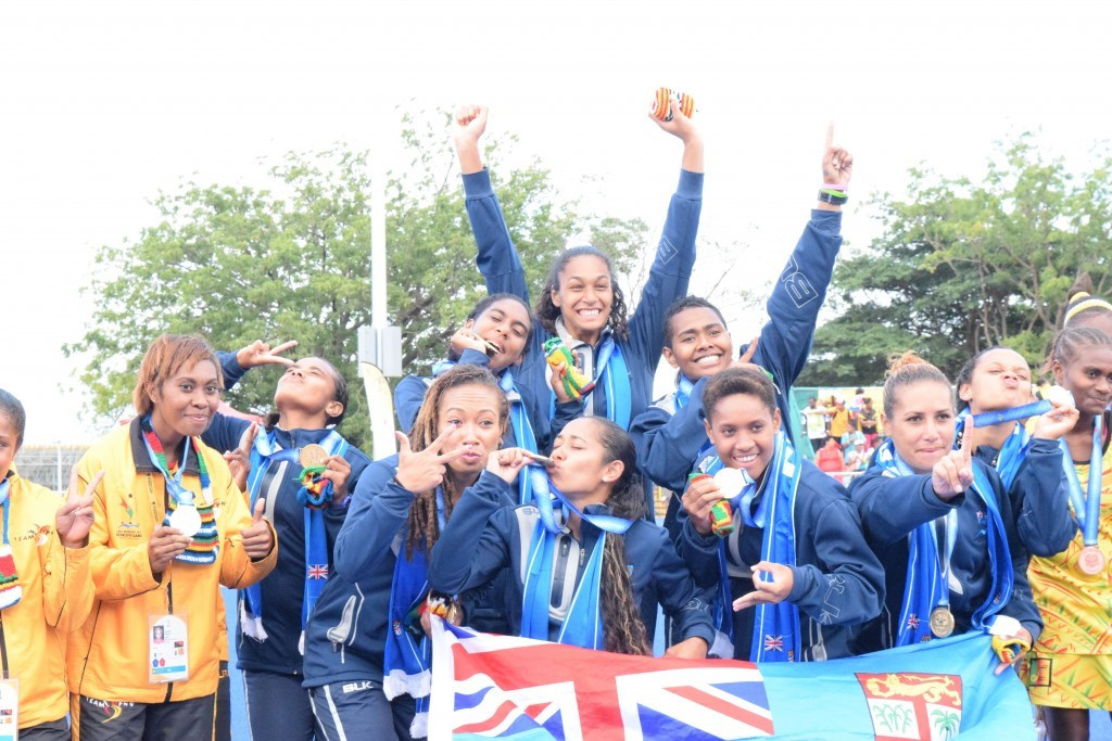 Fiji's women claimed gold by beating hosts Papua New Guinea in the final while the men also topped the podium at the PNG Power Dome