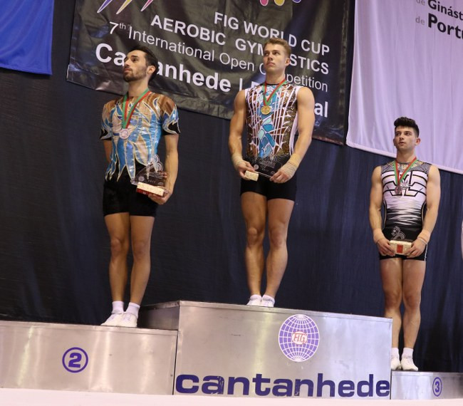 Bali and Kitazume claim individual Aerobic Gymnastic World Cup titles