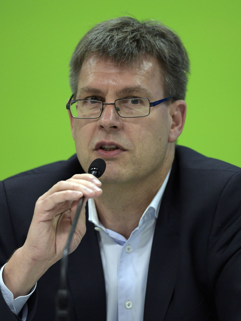 Germany's Thomas Weikert has delivered a 100 day plan of promises today ©Getty Images