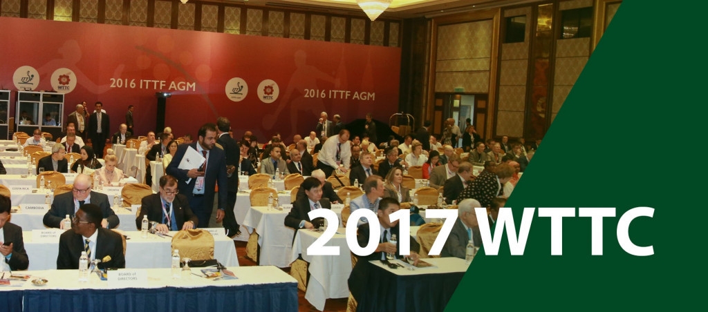 The ITTF AGM is taking place tomorrow ©ITTF