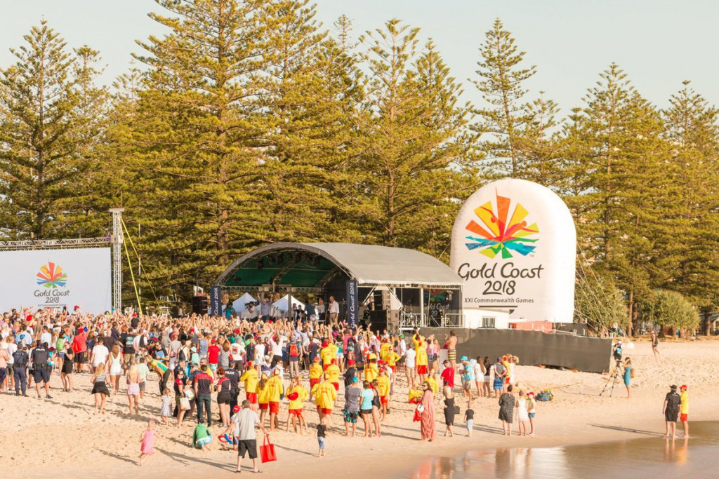 Sold Out become the latest partner of the Gold Coast 2018 Commonwealth Games ©Gold Coast 2018
