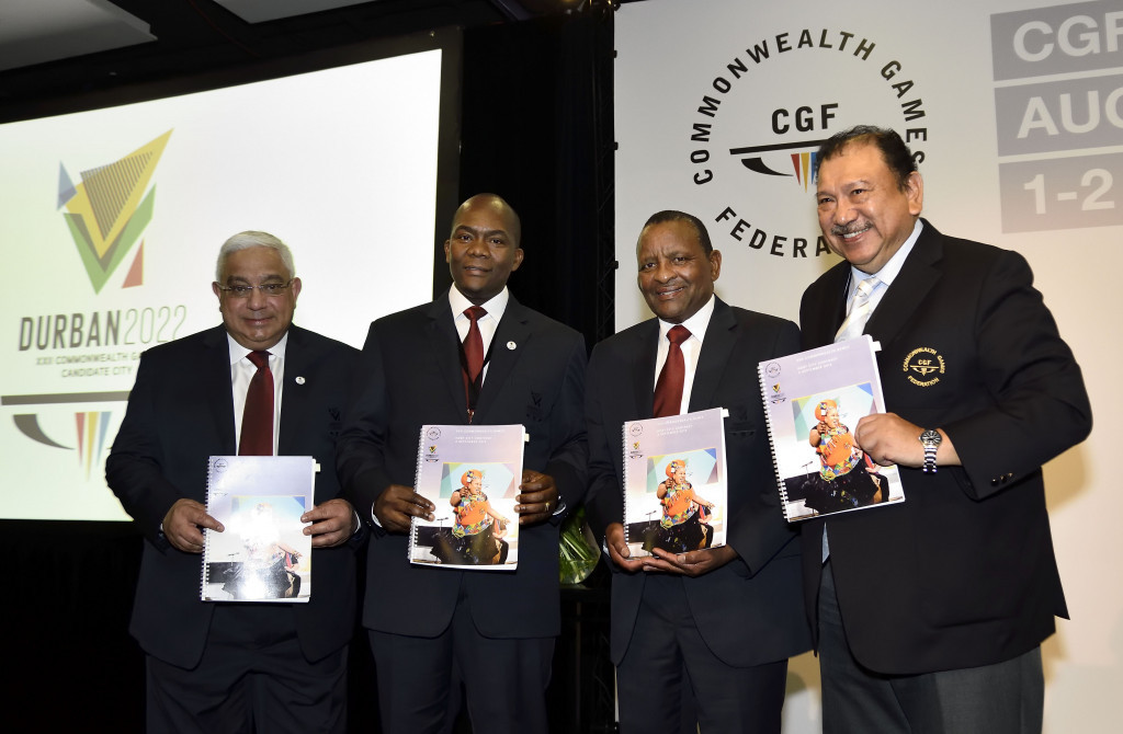 Olympic Council of Malaysia President  Tunku Imran, right, has claimed the Commonwealth Games Federation visit to Kuala Lunpur could help the city decide whether to make a decision about hosting the event in 2026 ©Getty Images