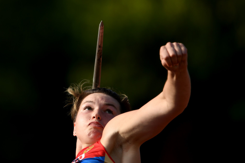 Javelin thrower Vera Rebrik has also been cleared to compete in international competition as a neutral ©Getty Images