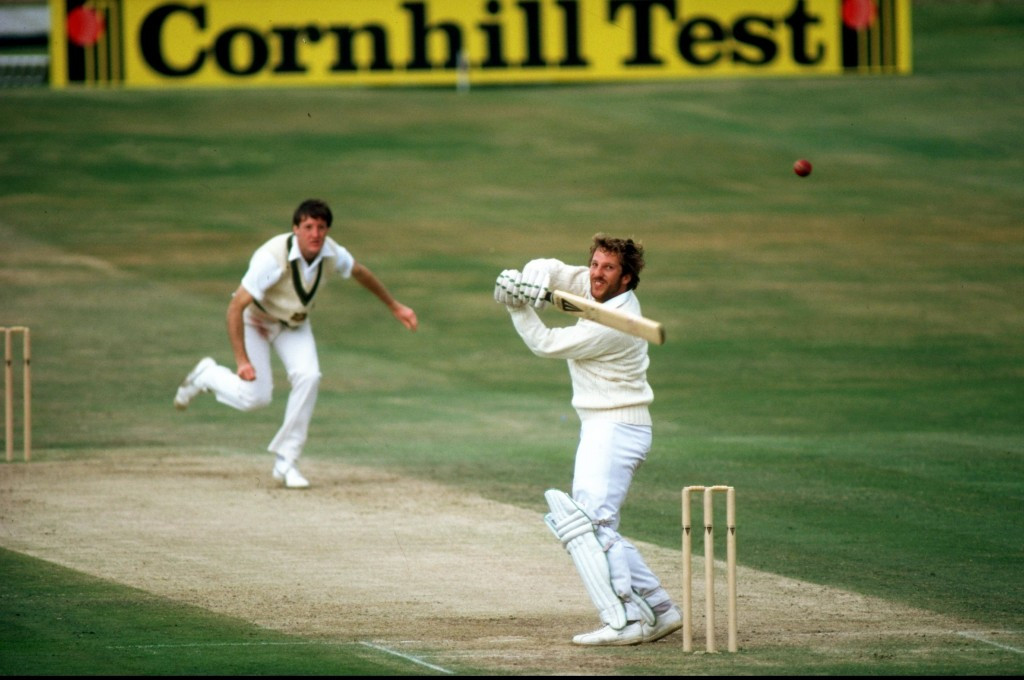 A knock of 149 not out by Ian Botham helped England towards an extraordinary and unexpected victory over Australia in the third Test at Headingley in 1981 ©Getty Images