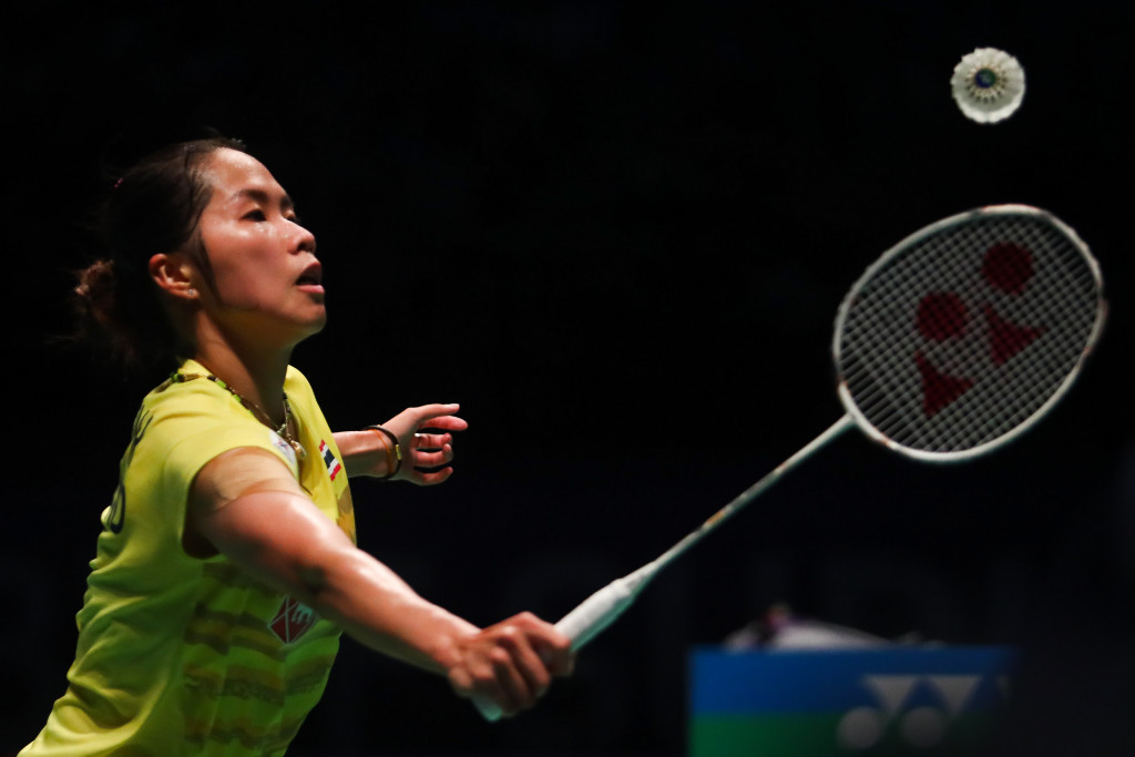 Intanon safely reaches second round at BWF Thailand Open