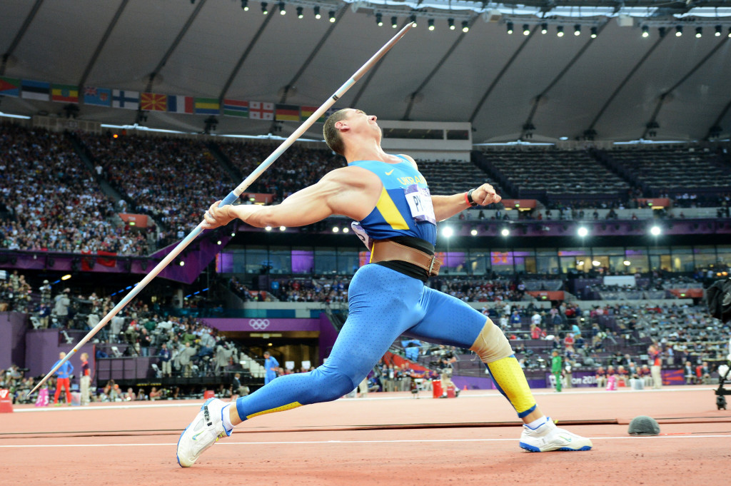 Ukraine's Oleksandr Pyatnytsya's two-year doping ban has been confirmed by the IAAF ©Getty Images