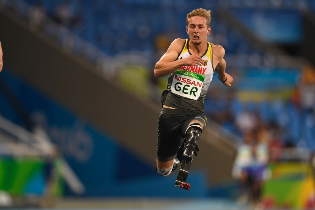 Germany's Floors sets 100m European record at World Para Athletics Grand Prix in Paris