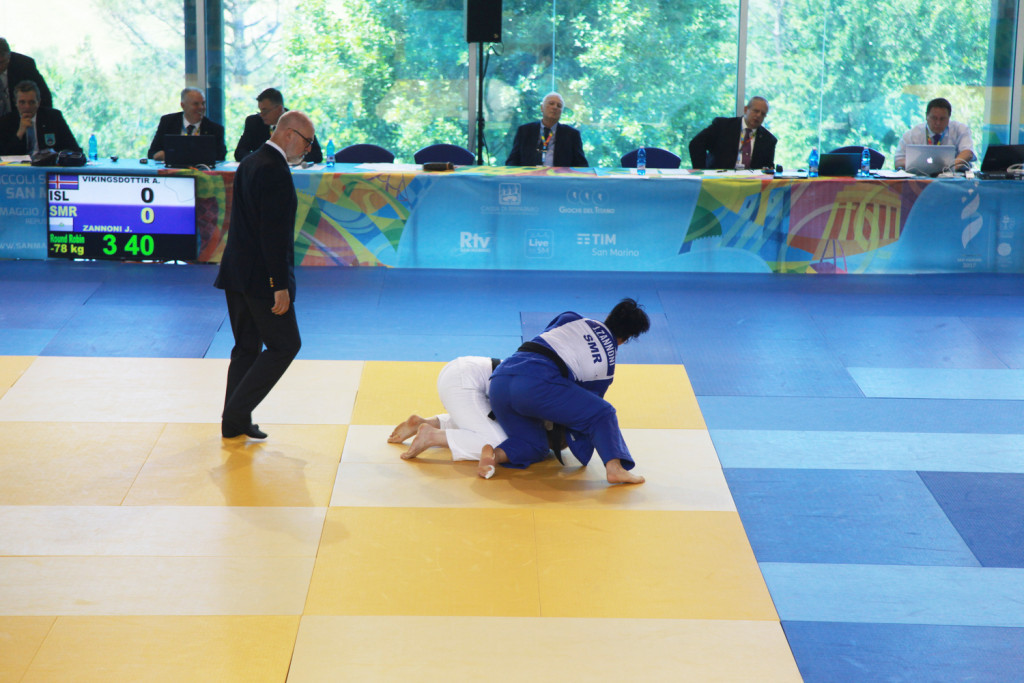 Judo was the main focal point on day two of the Games of the Small States of Europe in San Marino with 12 gold medals won in the sport at the Elementary School Gym in Acquaviva ©San Marino 2017/Flickr