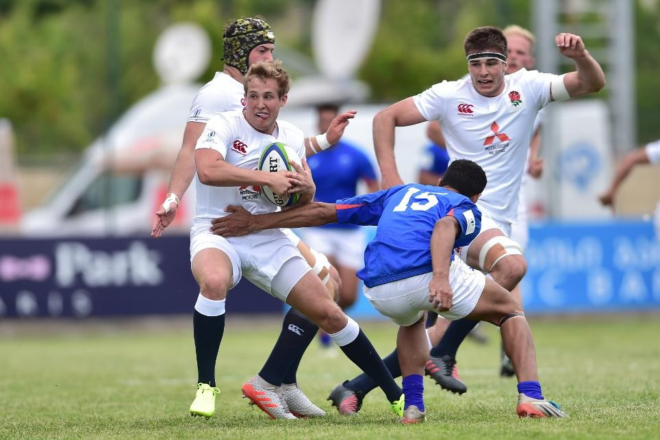 England begin World Rugby Under-20 Championship with emphatic win