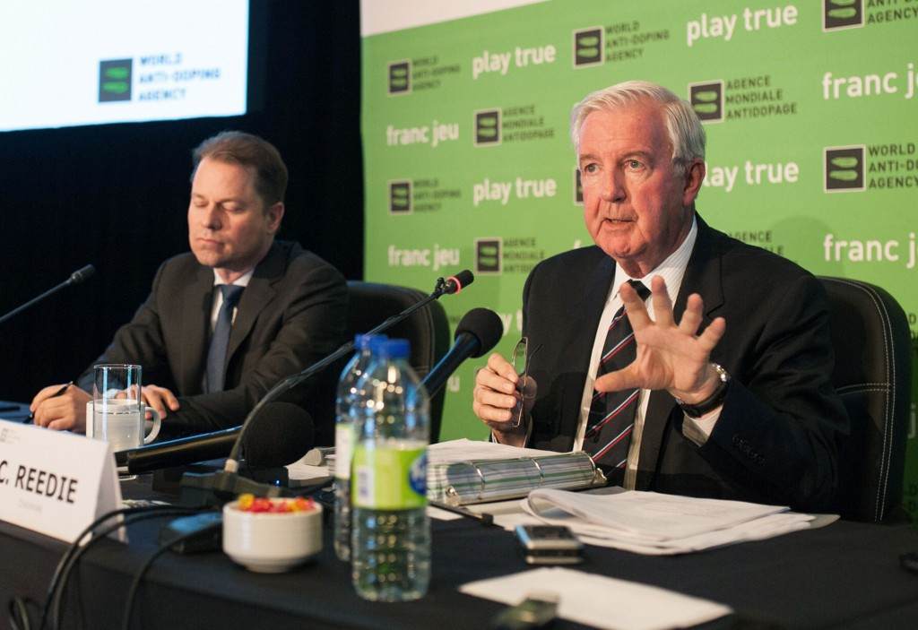 Sir Craig Reedie gave Russia hope of reinstatement by the World Anti-Doping Agency at a meeting in Montreal ©Getty Images