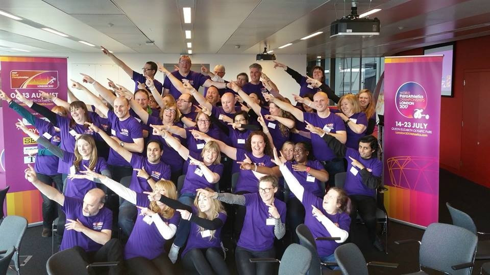More than 4,500 volunteers will pass through the Loughborough University London campus to be trained for the IAAF World Championships and the World Para Athletics Championships ©London 2017/Facebook