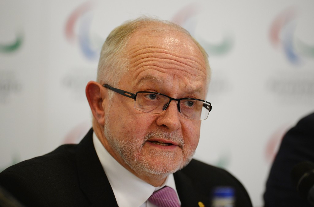IPC President Sir Philip Craven announced Russia's ban from the Rio 2016 Paralympics one year ago ©Getty Images
