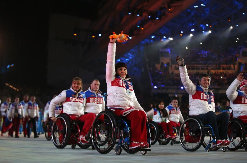 Russia finished top of the Paralympic Games at Sochi 2014 with a total of 80 medals but could miss out on Pyeongchang 2018 unless the IPC lift a doping ban on the country ©Getty Images ©Getty Images