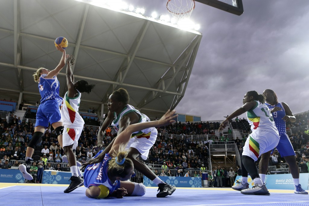 3x3 basketball is among the new disciplines hoping to be added to the Olympic programme for Tokyo 2020 ©Getty Images
