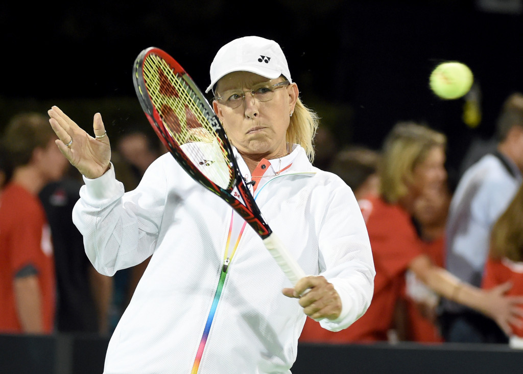 Martina Navratilova has been highly critical of Margaret Court's remarks ©Getty Images