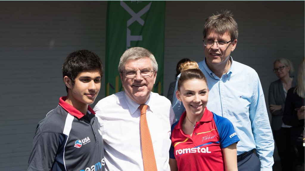 Thomas Bach attends World Table Tennis Championships as upsets continue
