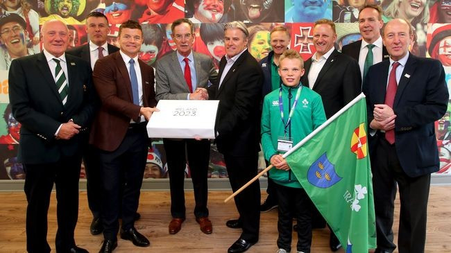 Ireland and France submit bids for 2023 Rugby World Cup