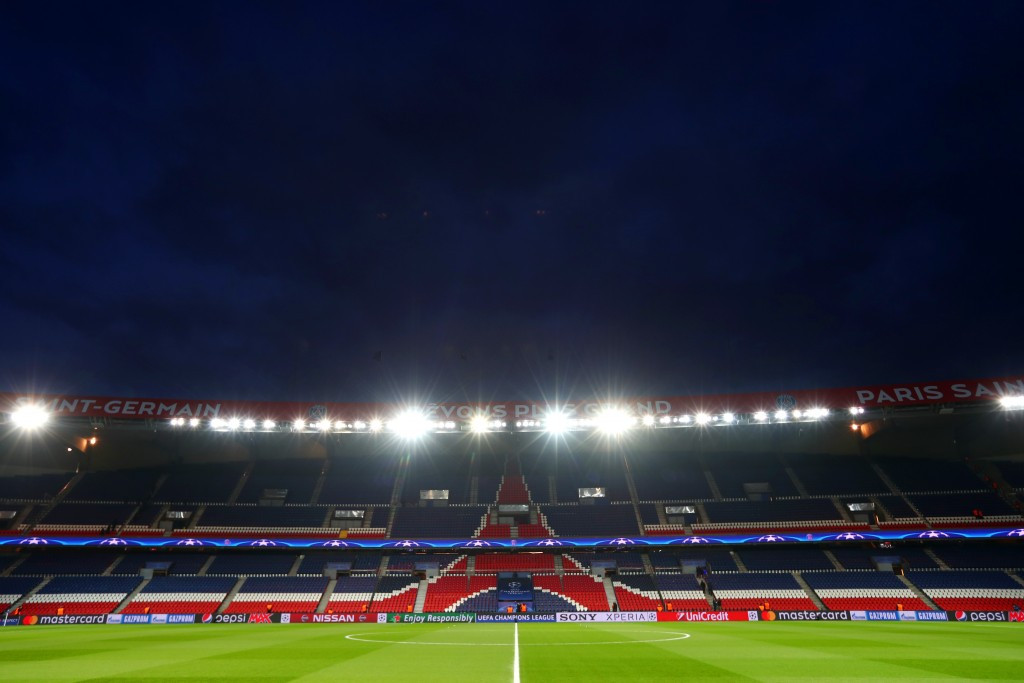 The Parc des Princes, which hosts matches of Ligue 1 football club Paris Saint-Germain, is one of three venues removed from France's venue plan for the 2023 Rugby World Cup ©Getty Images