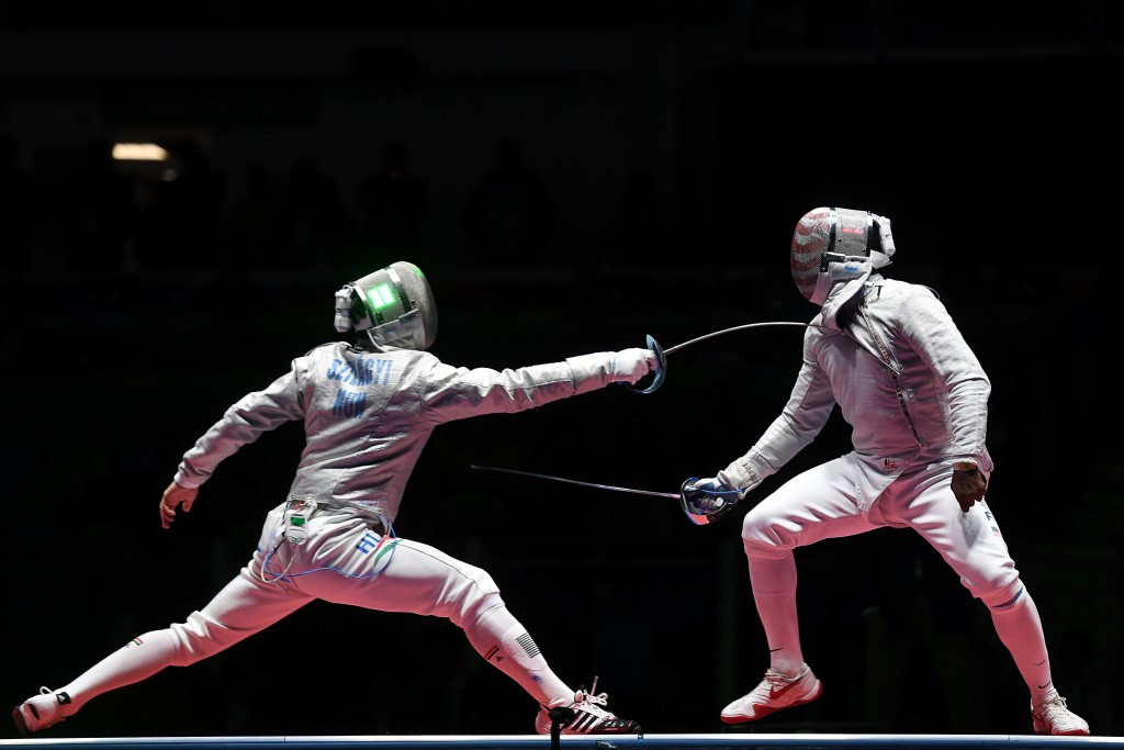 Men's Olympic champion Áron Szilágyi, left, and Daryl Homer, right, are both due to be in action in Moscow ©Getty Images