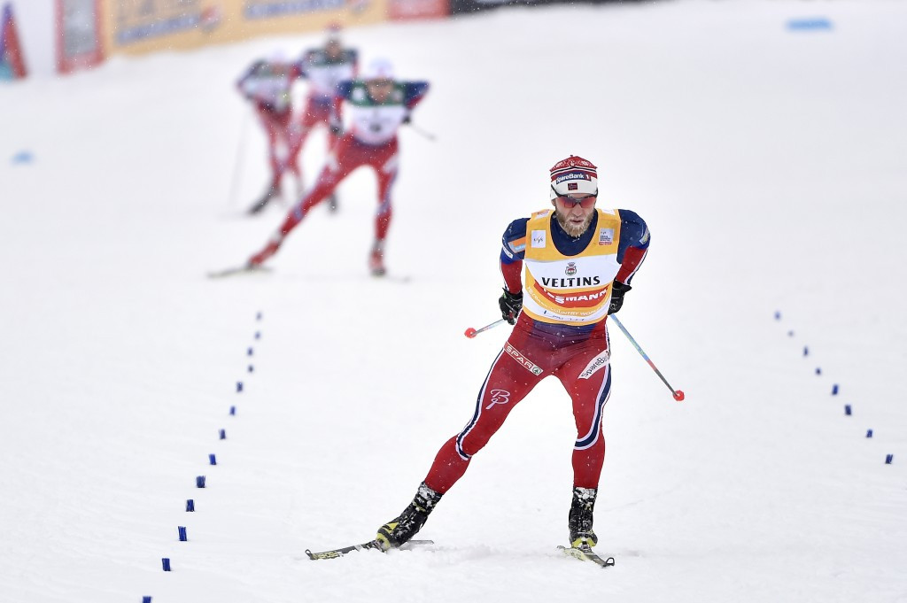 Norway's Martin Johnsrud Sundby topped the men's overall standings in the 2016-17 FIS Cross-Country World Cup ©Getty Images