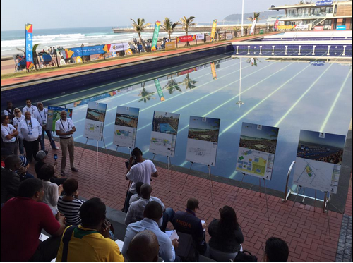 Delegates from 21 African and Asian countries visited Durban this week to inspect the city's bid for the 2022 Commonwealth Games