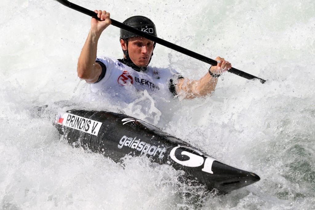 Czech leads K1 qualifying as Canoe Slalom European Championships begins