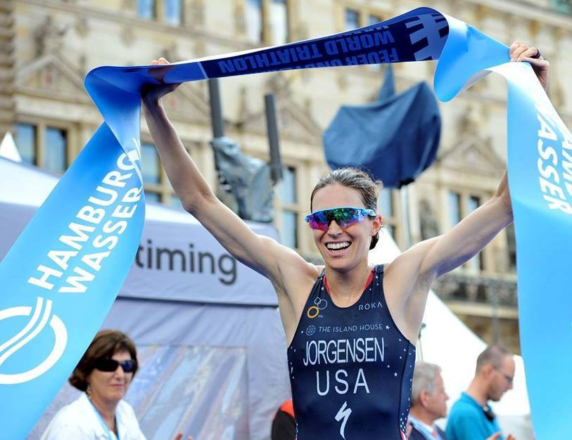 Jorgensen wins record 11th World Triathlon Series race but pushed hard in Hamburg