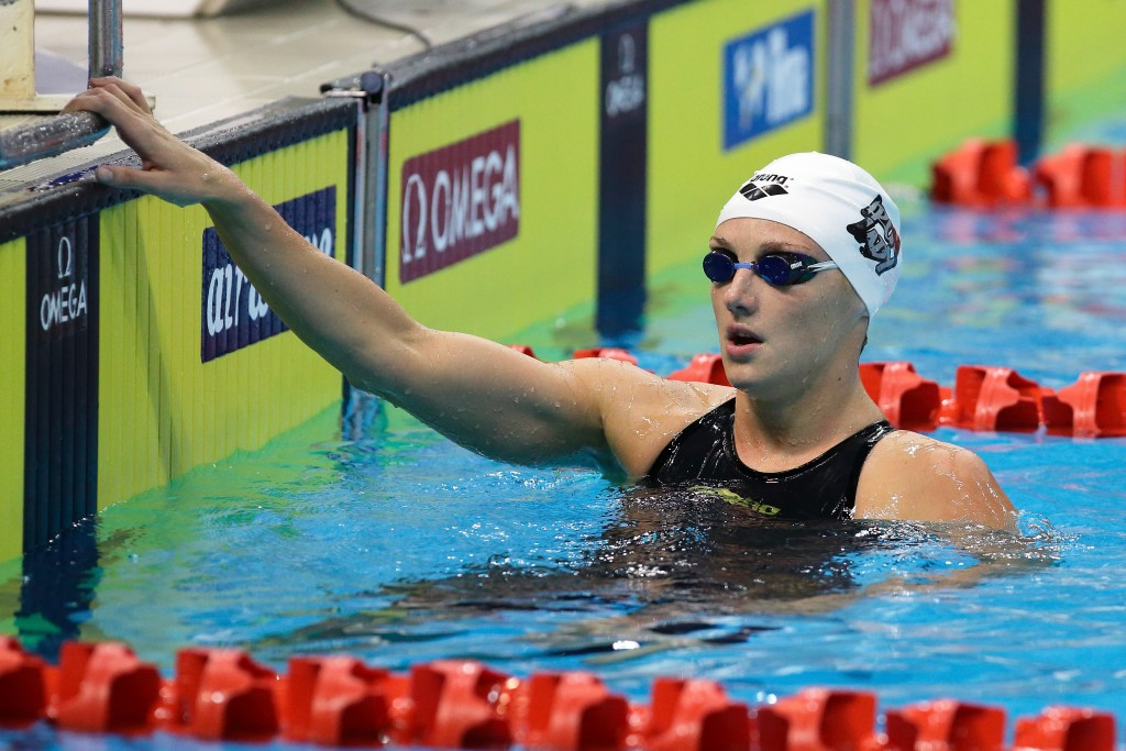 Katinka Hosszú has criticised changes to the FINA World Cup ©Getty Images
