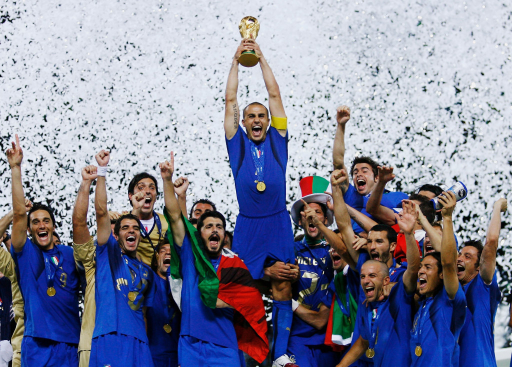 Europe most recently hosted the FIFA World Cup in 2006, when Italy triumphed in Germany, and Russia is scheduled to stage next year's edition ©Getty Images