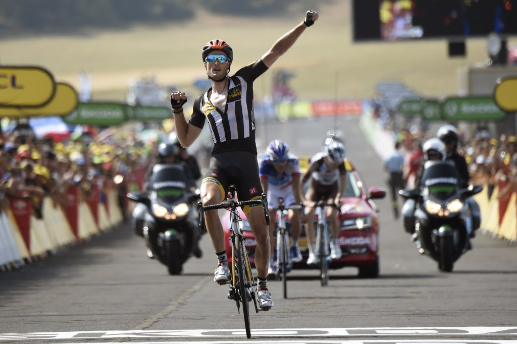Maiden Tour de France stage victory for South African team MTN-Qhubeka on Mandela Day