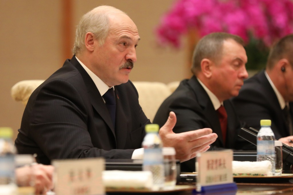 Alexander Lukashenko has criticised people for accusing Belarus of doping ©Getty Images