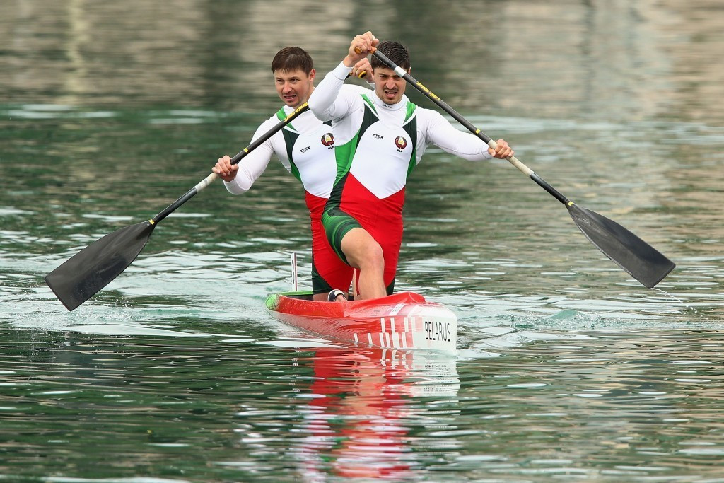Belarus are seeking compensation after their men's canoeing team were banned from Rio 2016 ©Getty Images