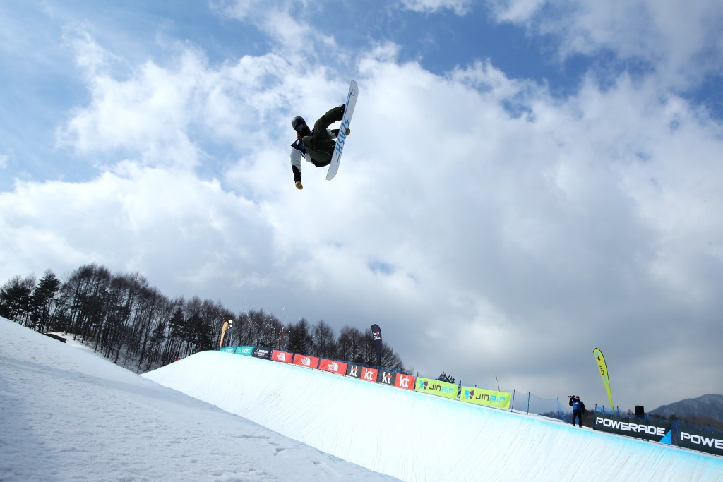 Greg Bretz leads the nominees for the halfpipe squad ©Getty Images