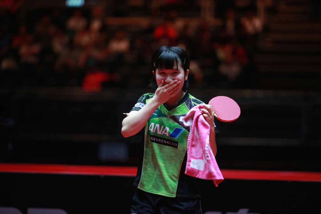 History for Japan and a shock loss for China at World Table Tennis Championships