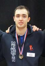 Remi Senegas of France also made it through to the main draw of the competition ©European Fencing