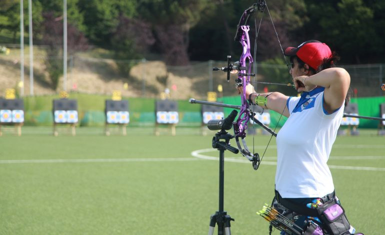 Eight gold medals were won in archery today at the Games of the Small States of Europe in San Marino ©San Marino 2017