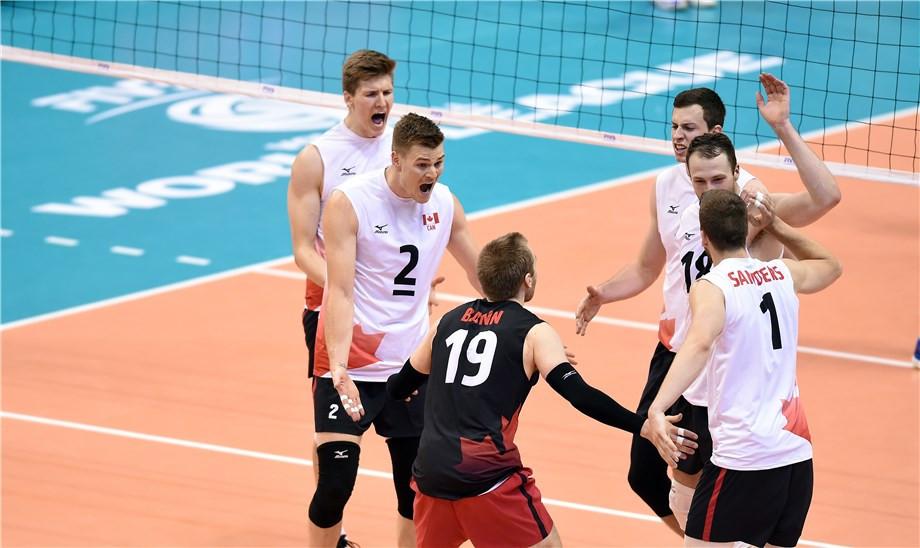 Canada downs Belgium 3-2 to open World League volleyball season