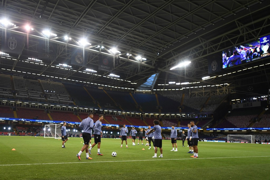 The Principality Stadium in Cardiff, host of this year's Champions League final, could form part of a British World Cup bid ©Getty Images