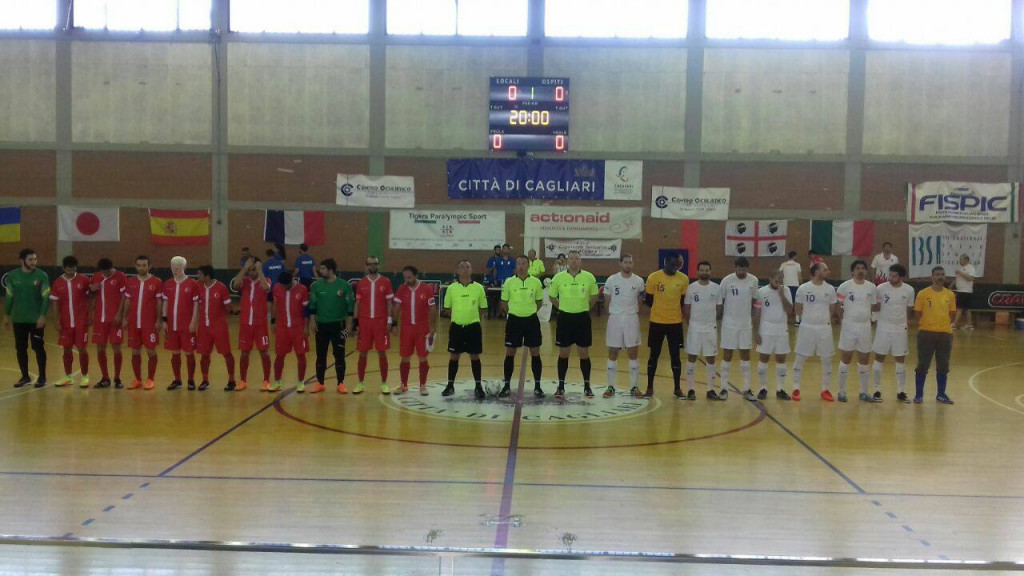 France beat Turkey to secure fifth place at IBSA Partially Sighted Football World Championships
