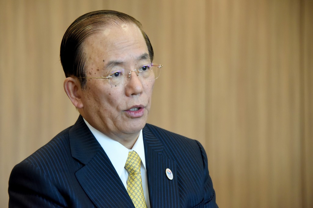 Toshirō Mutō has hit back at claims Tokyo 2020 are costing the taxpayers even more money ©Getty Images