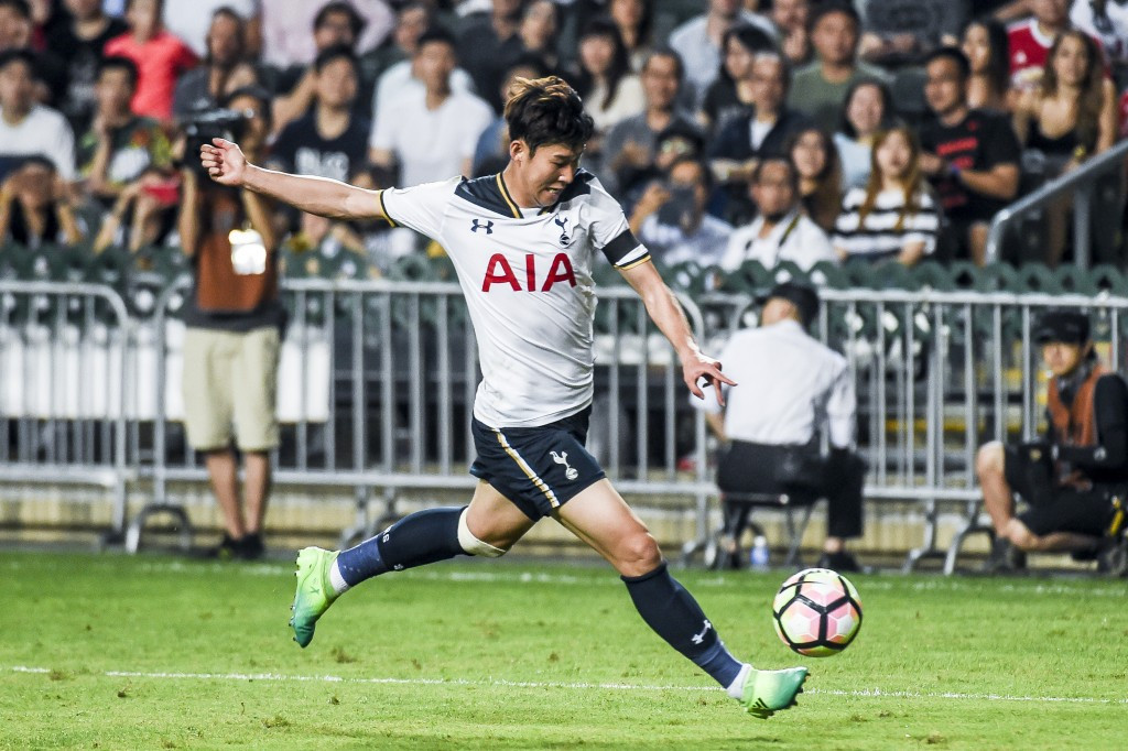 Son Heung-Min has helped boost Tottenham's support in South Korea ©Getty Images
