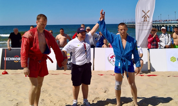 Lithuania hosts inaugural Beach Sambo Open Championships