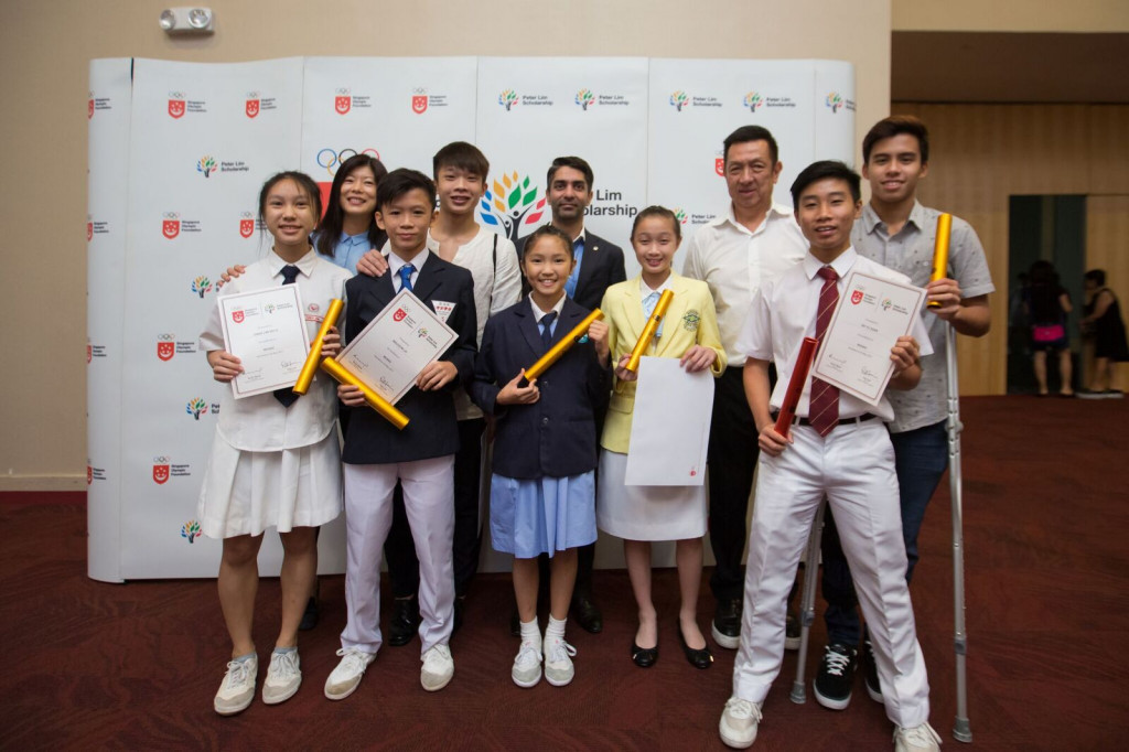 The SOF-Peter Lim Scholarship was set up in June with the aim of helping young, deserving sports talents from humble backgrounds achieve their sporting goals and supporting under, high performing athletes to pursue sporting excellence in .